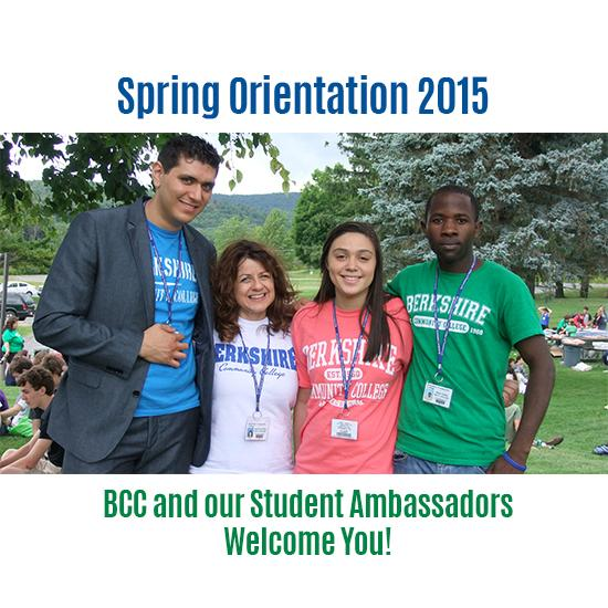 Spring New Student Orientation