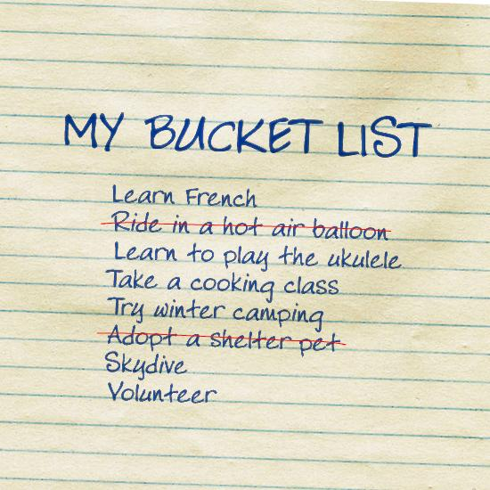 Tackle Your Bucket List in 2016