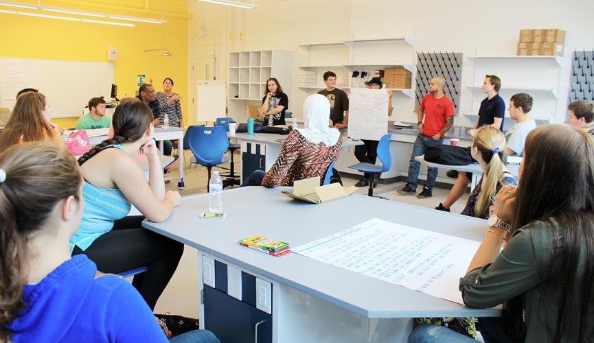 Hawthorne Hall - Classrooms/Labs
