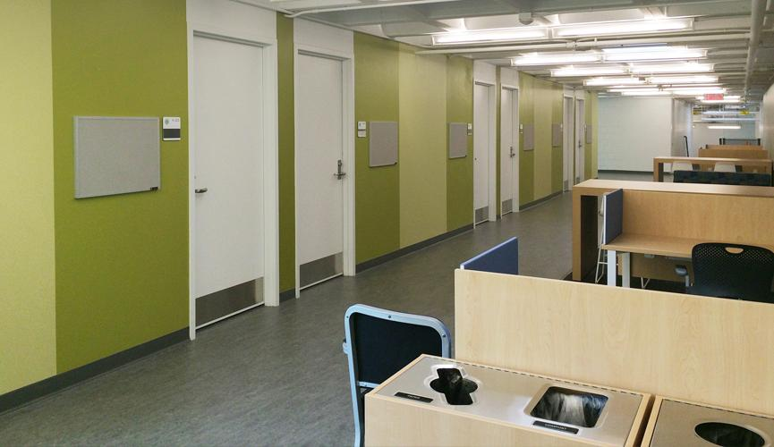 Hawthorne Hall - Study Areas