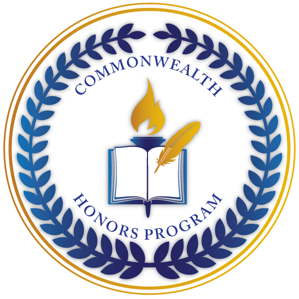 Commonwealth Honors Program logo.