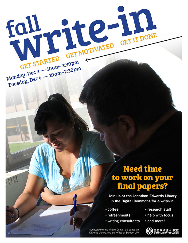 Fall 2018 Write-In Poster