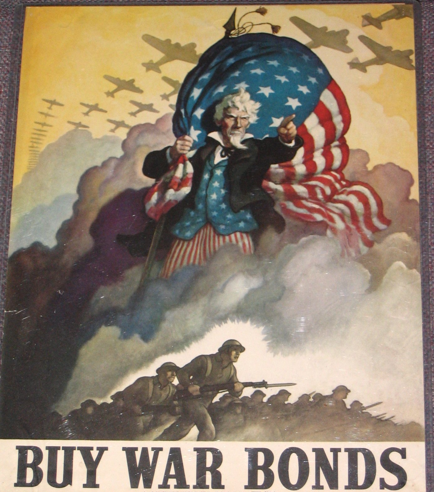 war bond poster by N C Wyeth