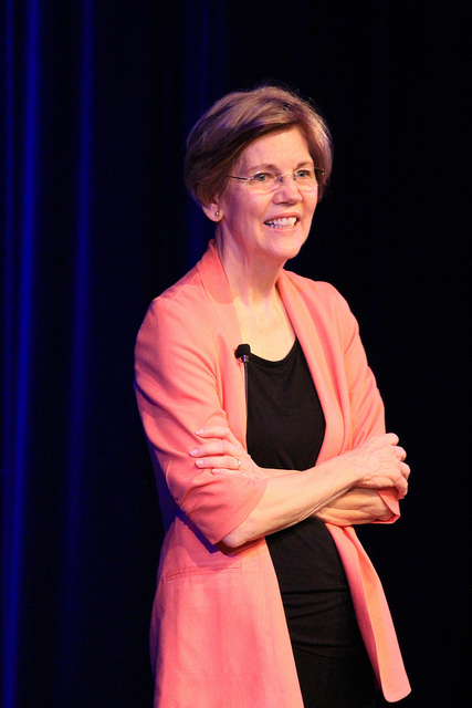 Sen. Warren held town hall at BCC on July 8