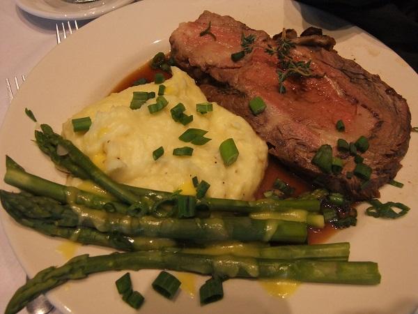 BCC Culinary Dinner Prime Rib